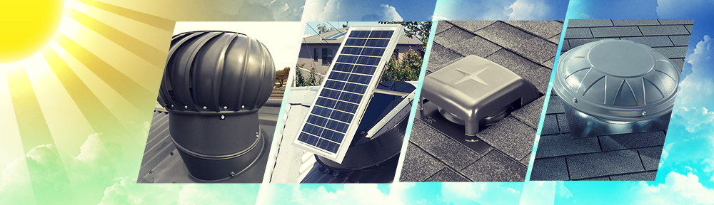 Roof Ventilation Whirlybirds Solar Ventilation And More