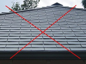 Shingles Roof (Not Australian Home)