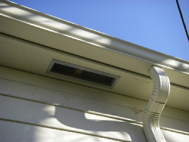 Vent Roof Without Eaves Roofs There Will Eave Vent