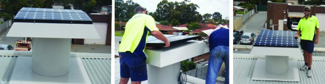 Commercial Roof Ventilation