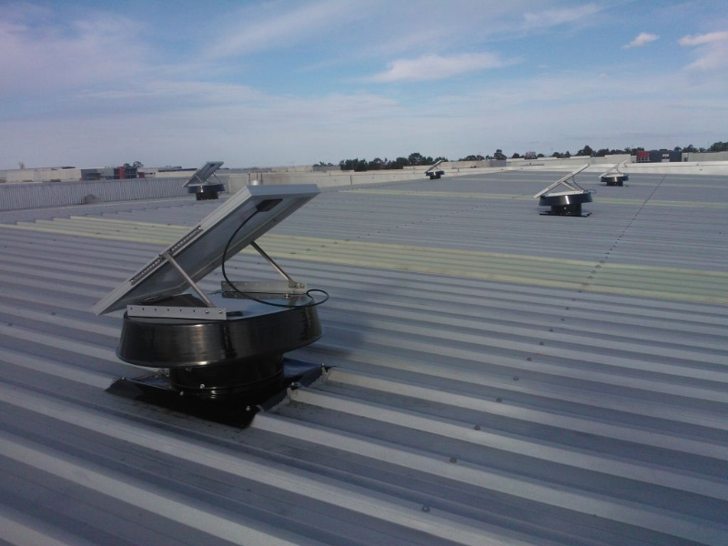 Commercial Ventilation Solar Whiz