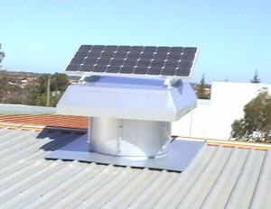 SV 90 Western Solar Roof Ventilation